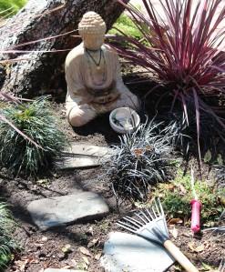 Tending Buddha