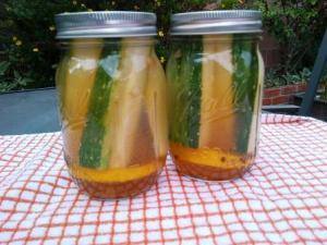 """fig. 3, """"borrowed"""" pickle juice pickles"""