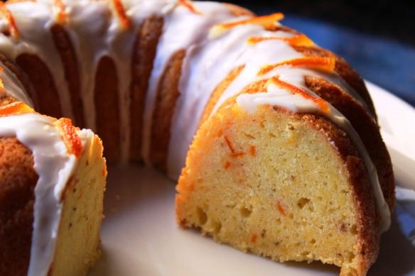 Anise scented orange cake