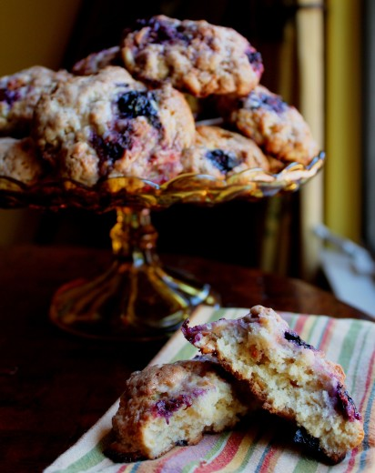 Berry Almond Scones