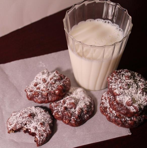 5 Ingredient Chocolate Walnut Cookies