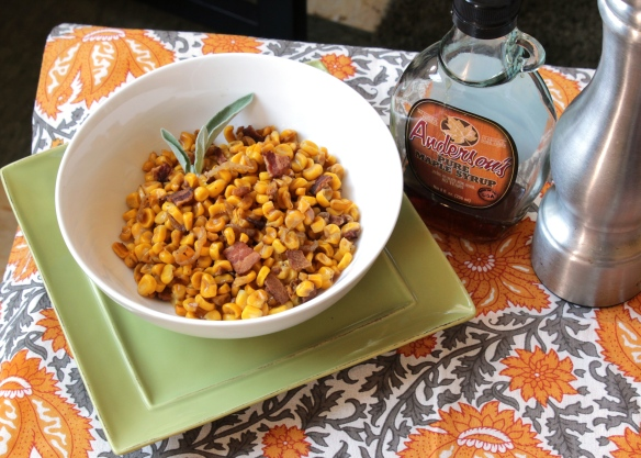 Maple Bacon Corn