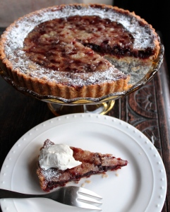 Cranberry & Dried Cherry Tart