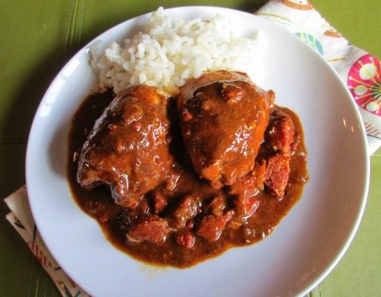 Recado Rojo Chicken