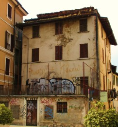 Graffiti in Brescia, IT