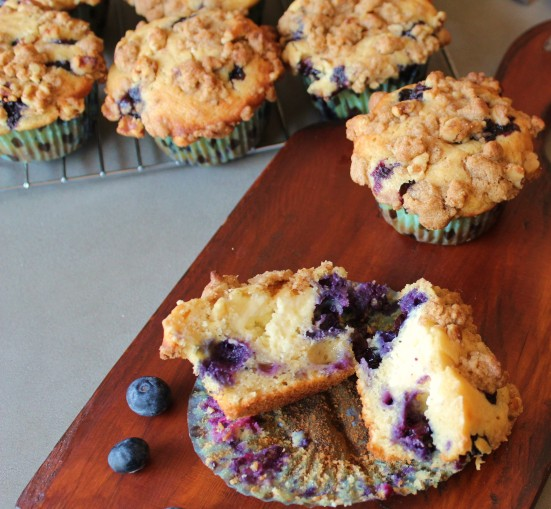 Blueberry Cheesecake Muffin