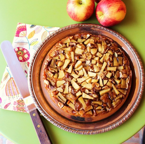 Apple Almond Pumpkin Cake