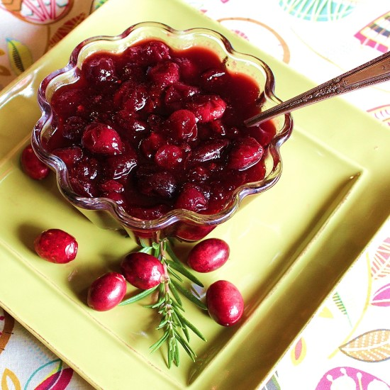 Cranberry Cherry Sauce