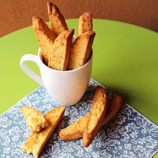Candied Orange and Anise Biscotti