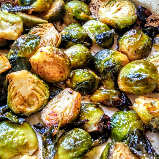 Brussels Sprouts with Cumin and Coriander