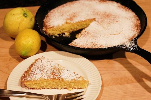 Lemon Visiting Cake