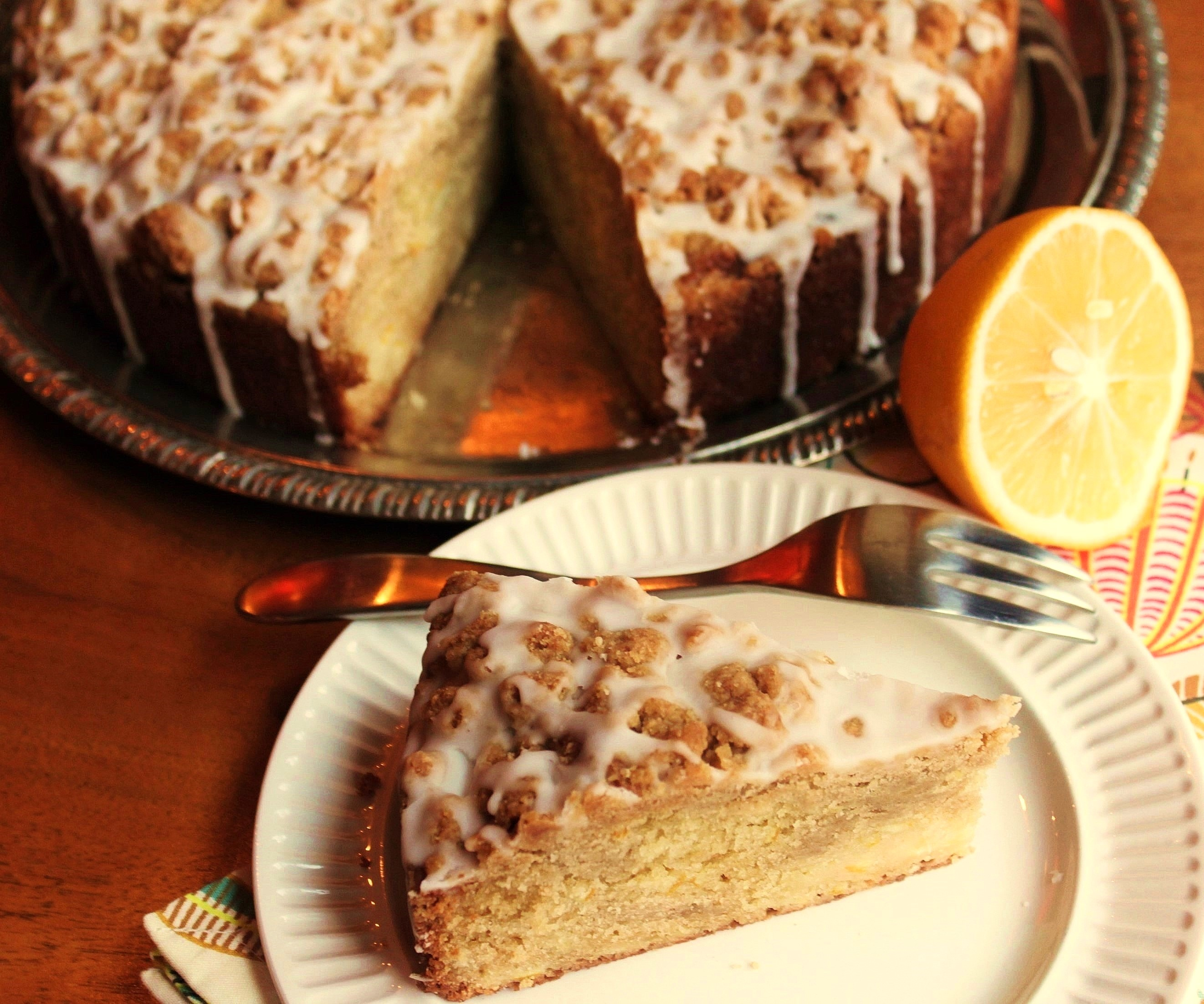 Meyer Lemon Coffee Cake | Two-Bit Tart