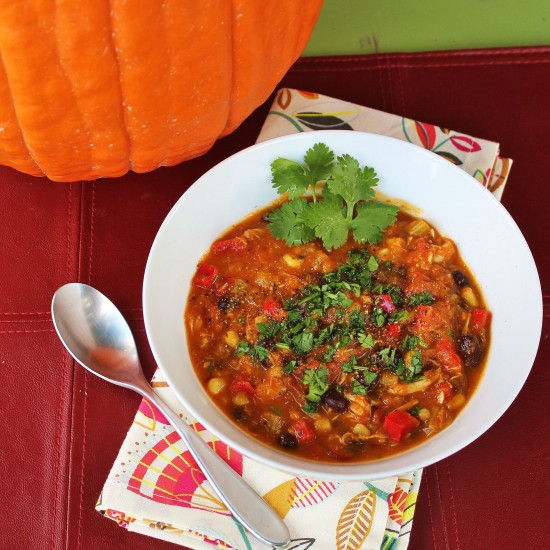 Southwest Pumpkin Soup