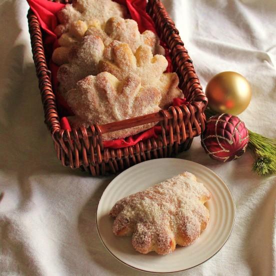 A basket of Gibassier