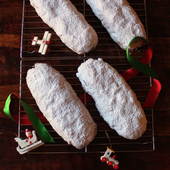 4 loaves of Stollen