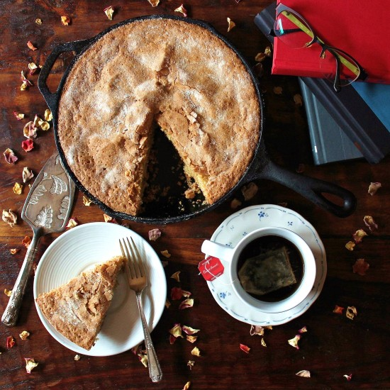 Cardamom Rose Cake