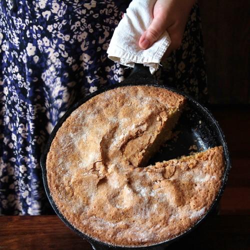 Cardamom Rose Almond Cake