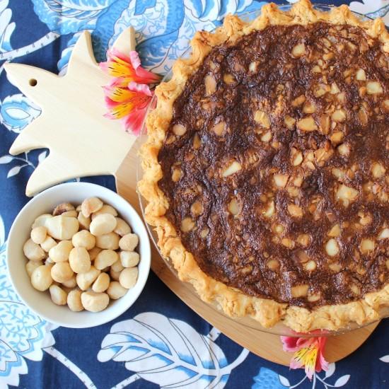 Macadiamia Nut Pie