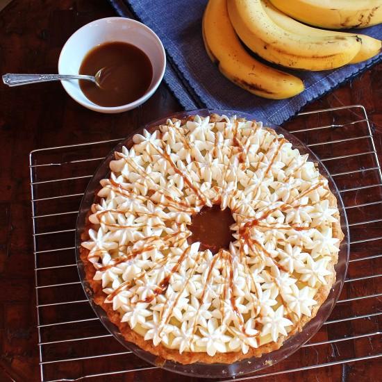 Banana Cream Pie with Caramel